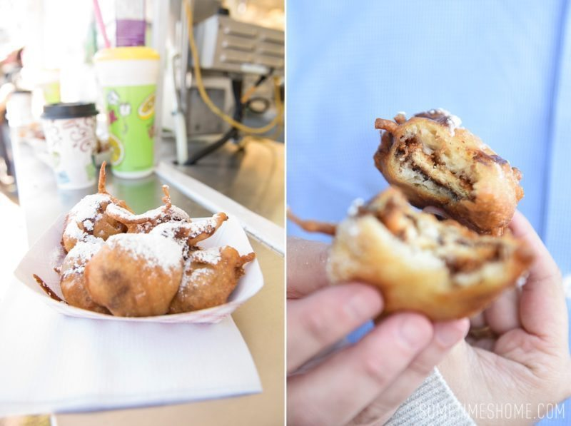 North Carolina State Fair photos on Sometimes Home travel blog by photographer Mikkel Paige. Fried Girl Scout cookies were delicious!
