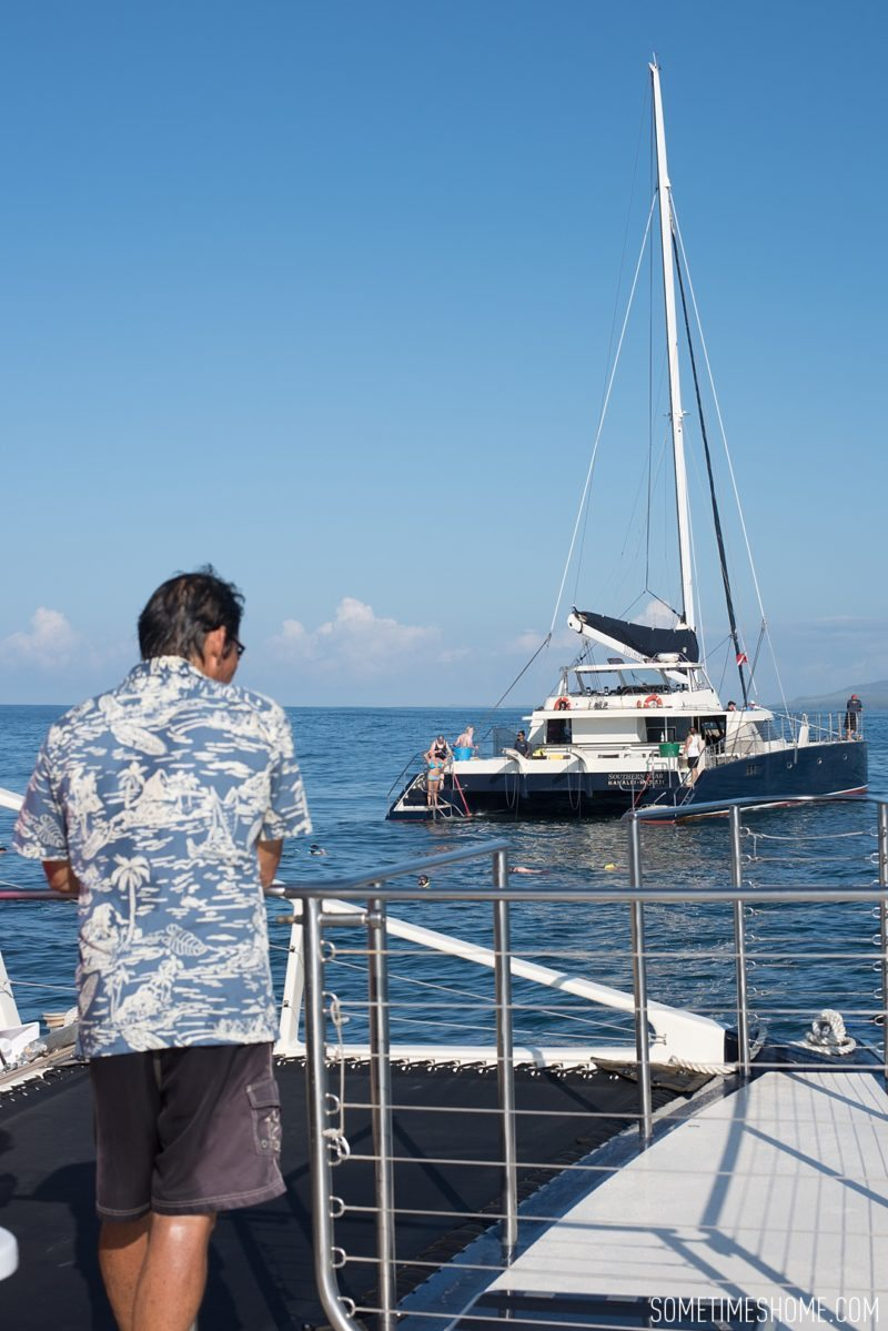 Travel tips on Hawaii, south and east ends of Kauai island by Mikkel Paige. Photos of the Napali Coast from a boat tour.