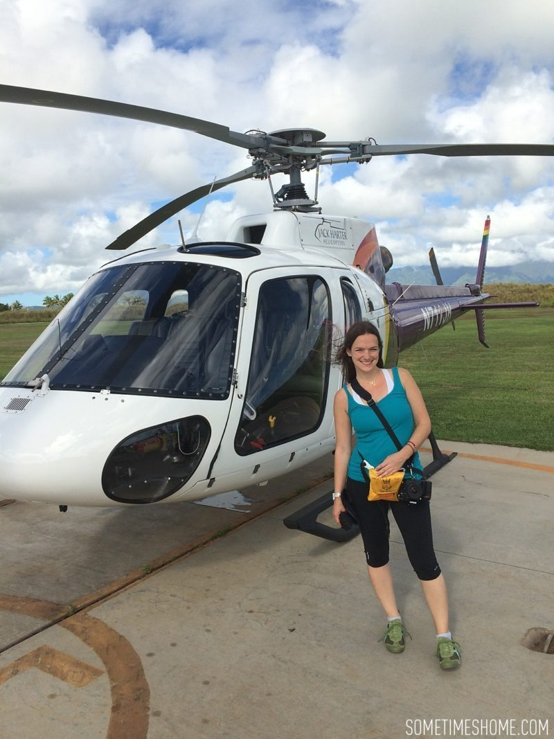 Travel tips on Hawaii, south and east ends of Kauai by Mikkel Paige. Jack Harter Helicopter Tours with aerial views of the island.