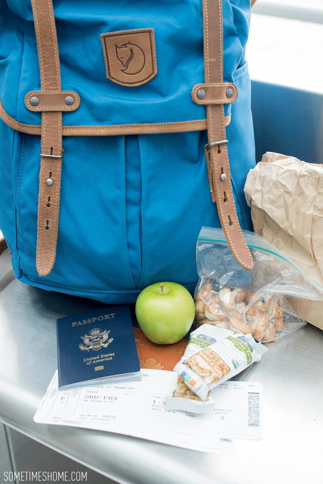 Top 10 Travel Tips Abroad blog post with what to pack in a carry on by Sometimes Home blog, by Mikkel Paige. Approachable advice and info on international trips.