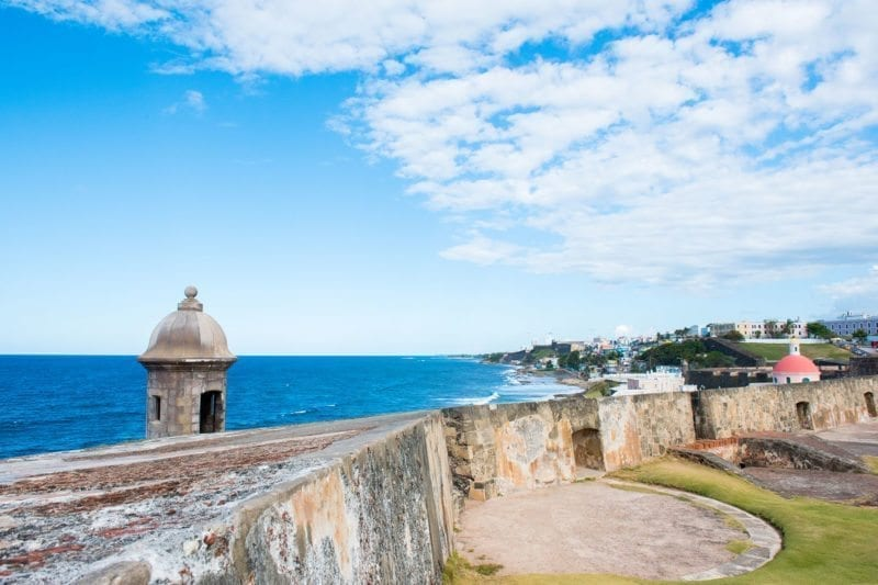 Three things to do in Puerto Rico travel post on Sometimes Home blog for travel tips and information.