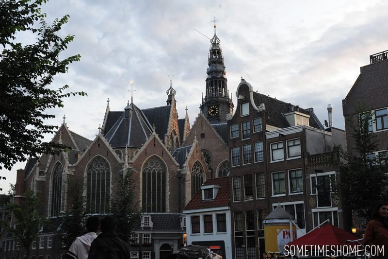 Things to do in Amsterdam besides smoking pot by travel blog Sometimes Home. Photos of the De Nieuwe Kerk, new church.
