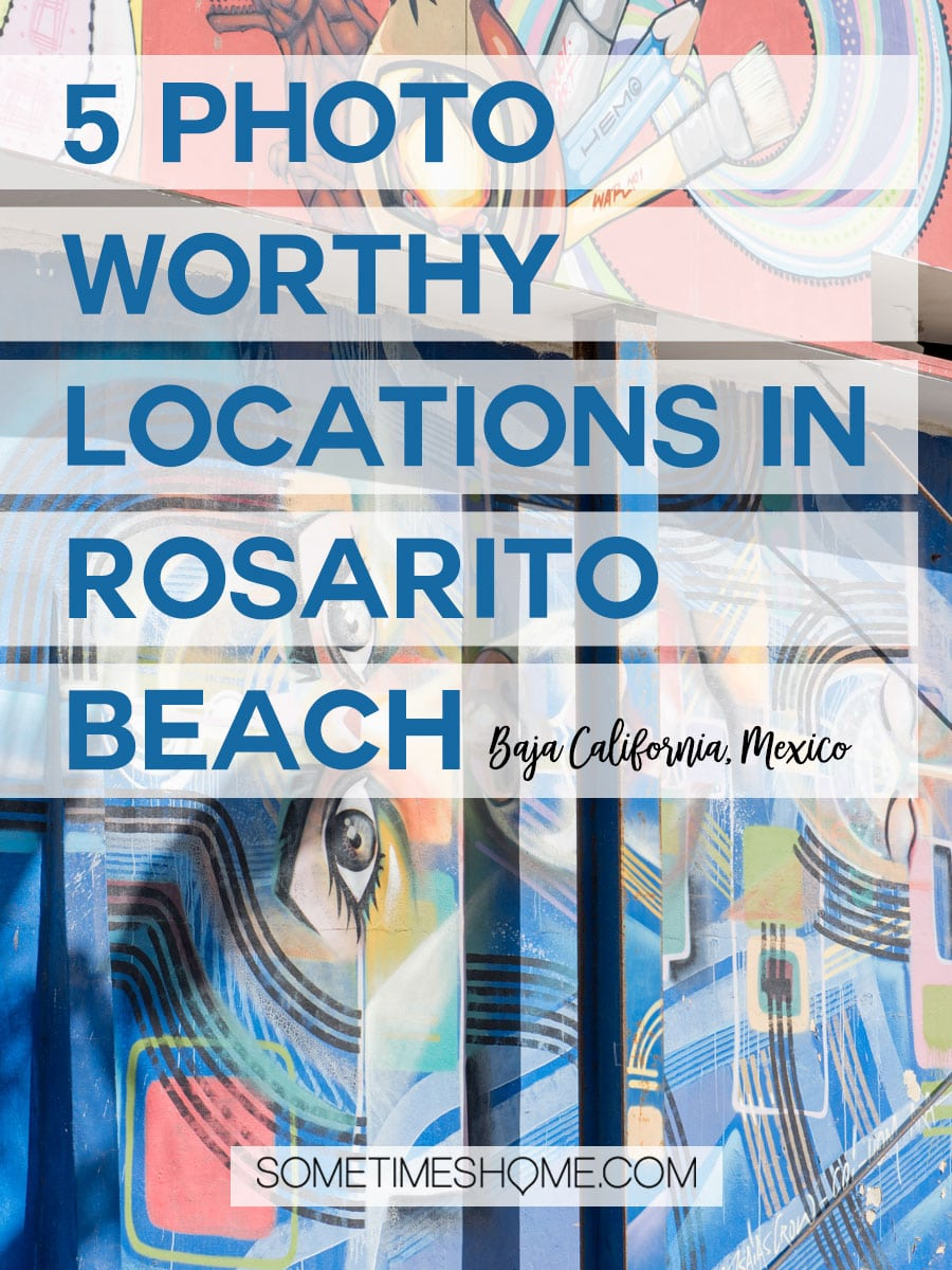 The best photo location in Rosarito Beach, Mexico. This beautiful beach city is in the Baja California peninsula south of San Diego. It's a great day trip that offers sunsets, ocean views and great hotels, resorts and spas. Click through to see picture ideas for your visit! #RosaritoBeach #BajaCalifornia #SanDiegoDayTrip #RosaritoMexico #Mexico #AtlanticOcean