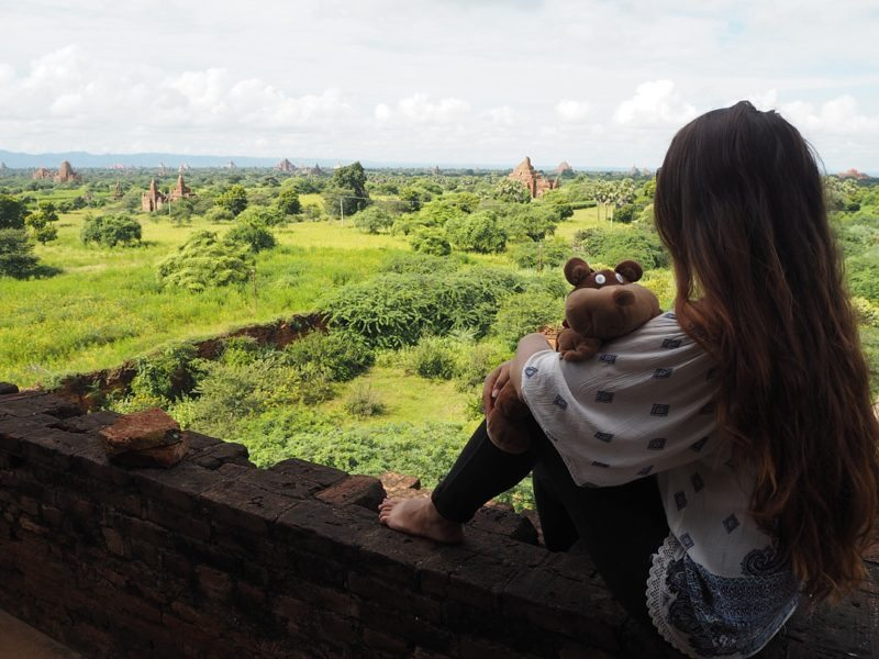 Travel tips on one thing to do everywhere you go, from the same photo post to getting the same dessert from Sometimes Home blog. Myanmar stuffed animal photo from Travels of Plushy.