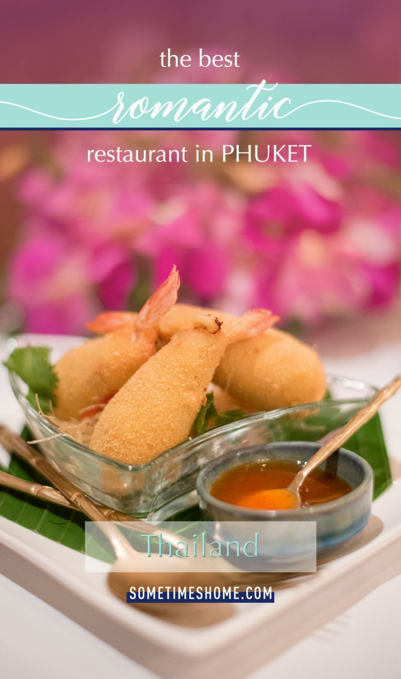 Best Romantic Restaurant in Phuket with The Blue Elephant in Old Town. Sometimes Home travel blog.