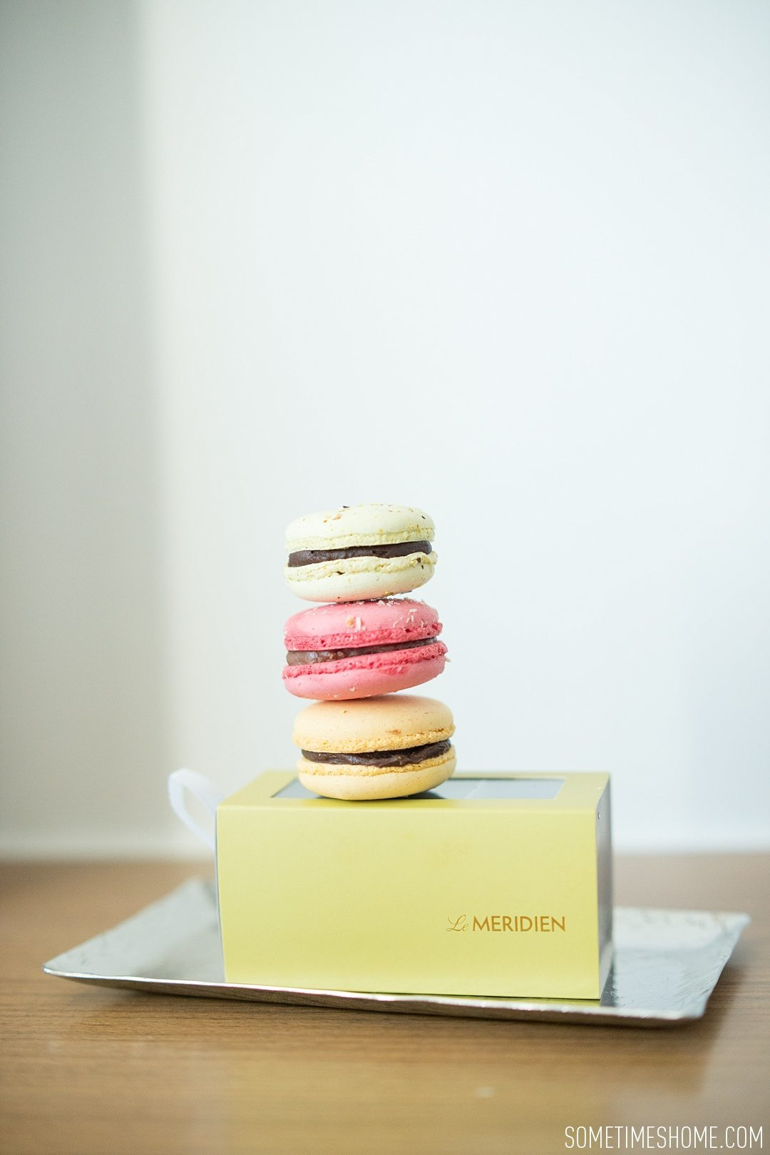 Affordable VIP Treatment at Le Meridien Chiang Mai, Thailand. Photos of macarons for Concierge Level by Sometimes Home.