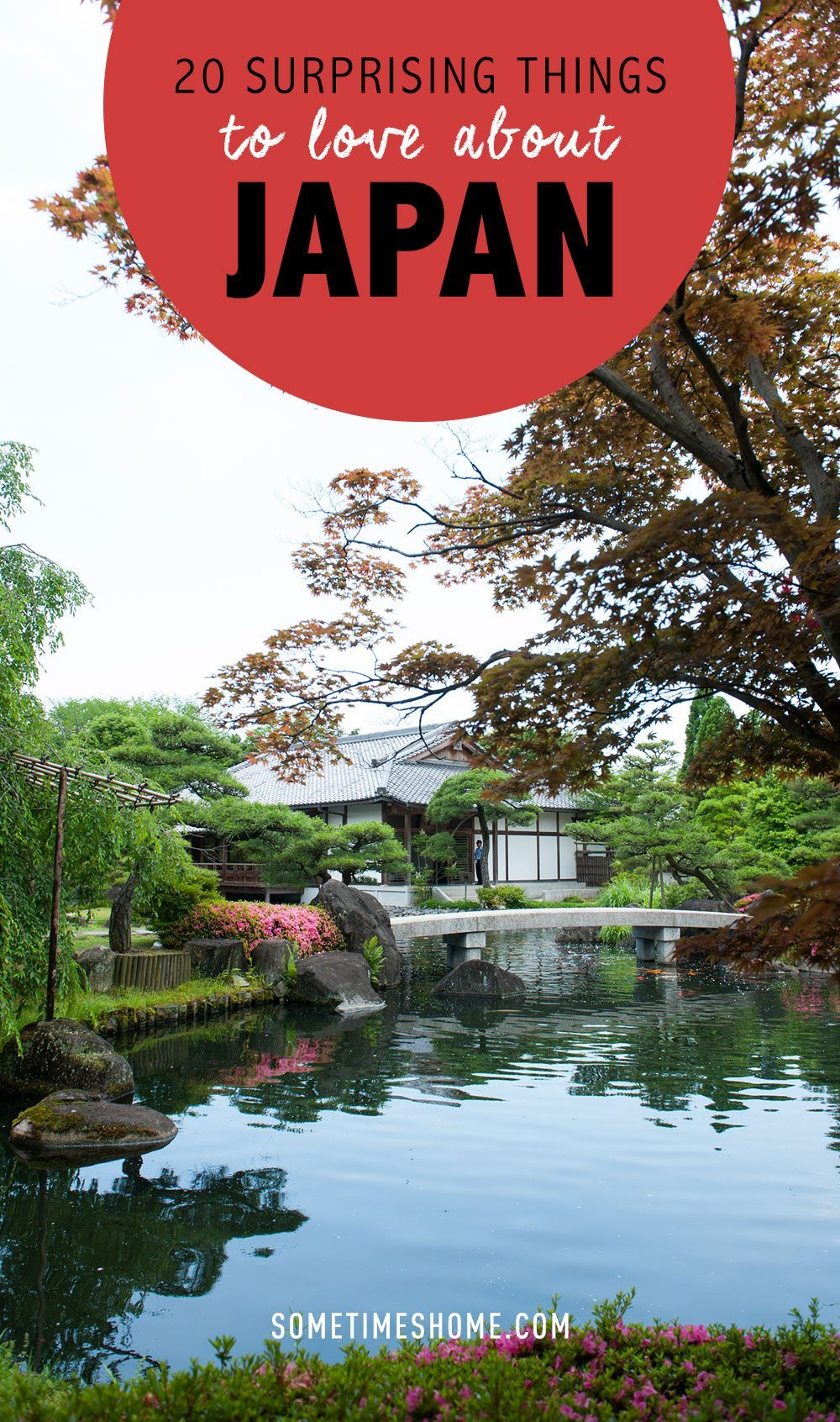 20 Surprising Things to Love About Japan with photos on Sometimes Home travel website and blog.