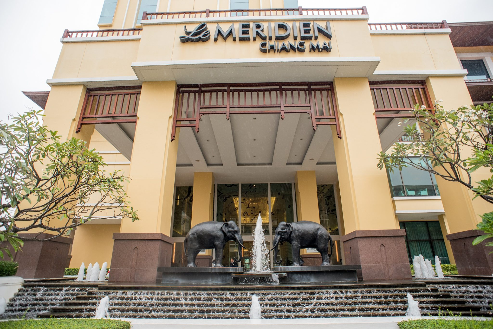 Staying at Le Meridien Chiang Mai for Free, in Northern Thailand