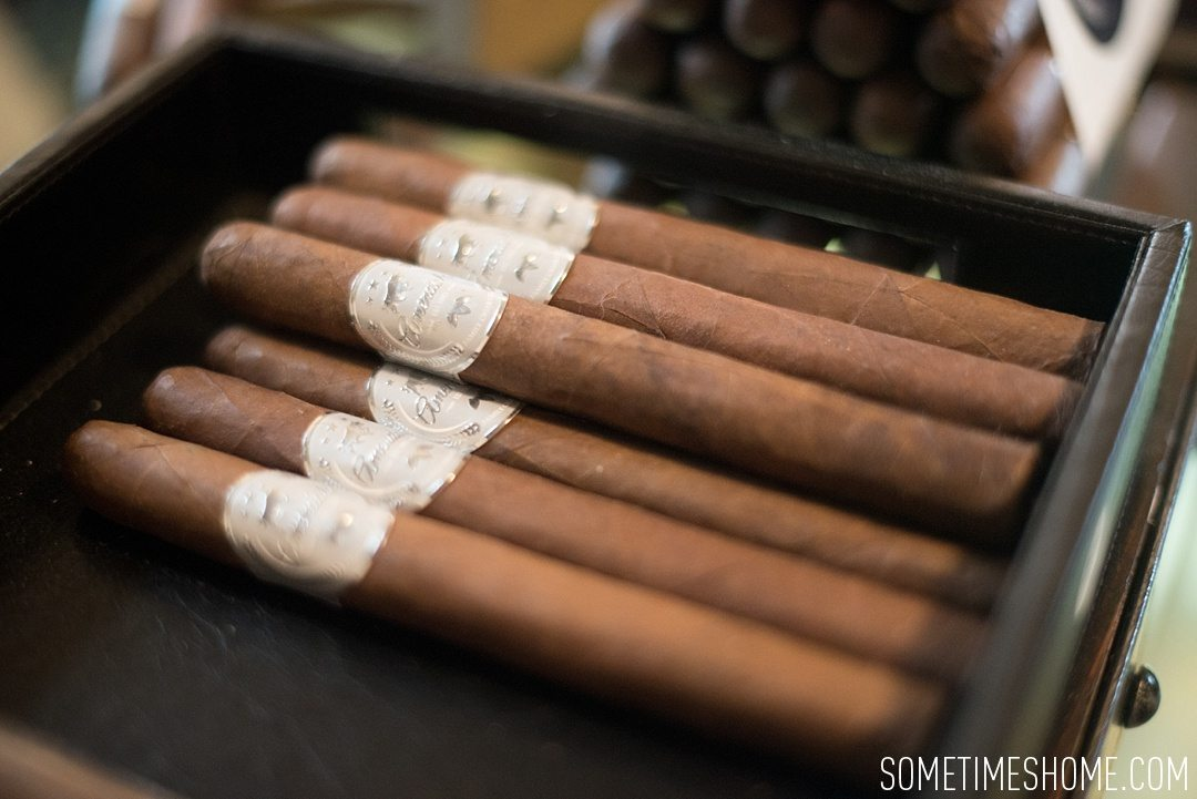Incredible Downtown Durham Staycation Schedule. Sometimes Home travel advice. Photo of Bull City Cigars.