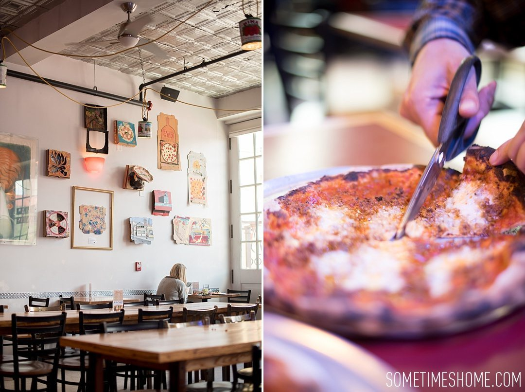 Incredible Downtown Durham Staycation Schedule. Sometimes Home travel advice and information. Photo of Il Forno pizza.