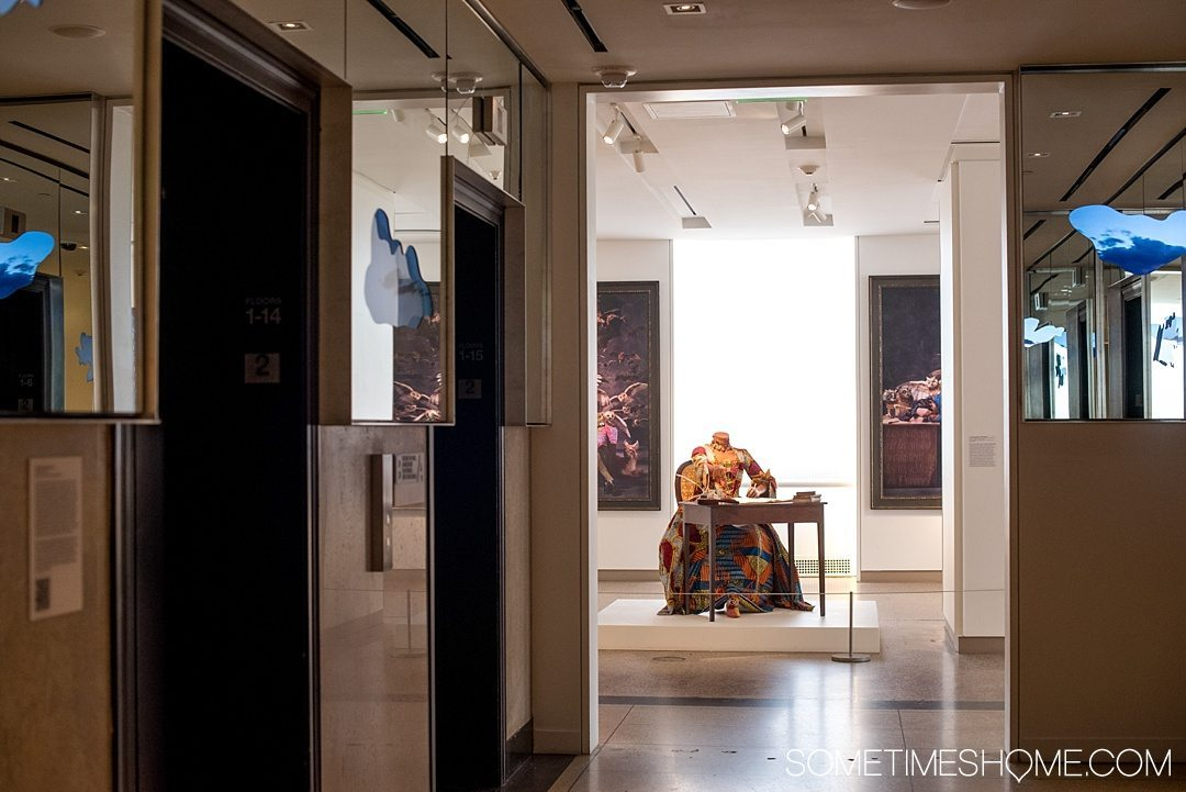 10 Reasons We Love 21c Museum Hotel in Durham NC and You Will Too including location in downtown Durham. Photos and information on Sometimes Home travel blog including their curated art collection.