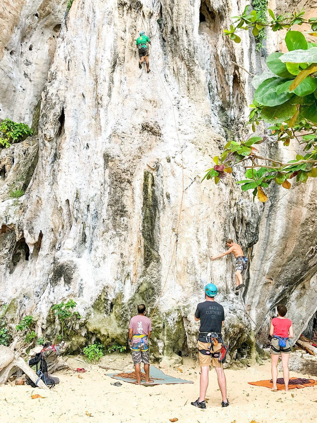 The Best Excursion We Did In Thailand Was A Day Rock Climbing Et With An Amazing Private Trip To Railay Beach