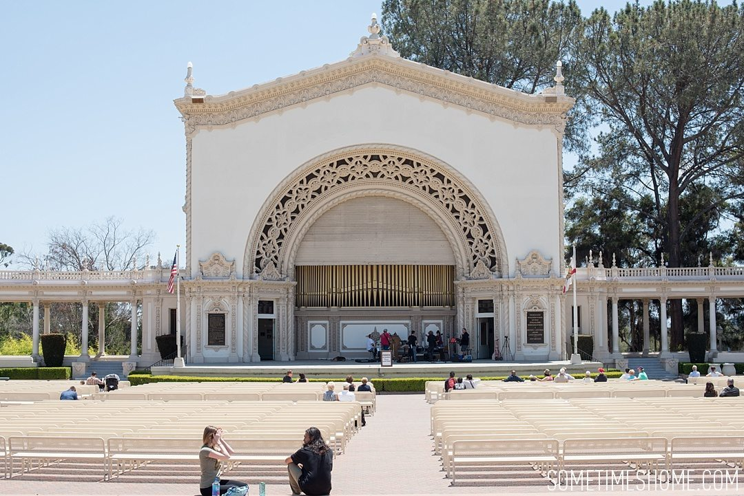 We Walked From The Organ Pavilion Towards Balboa Park Visitors Center Pictured Above First Image Of Post