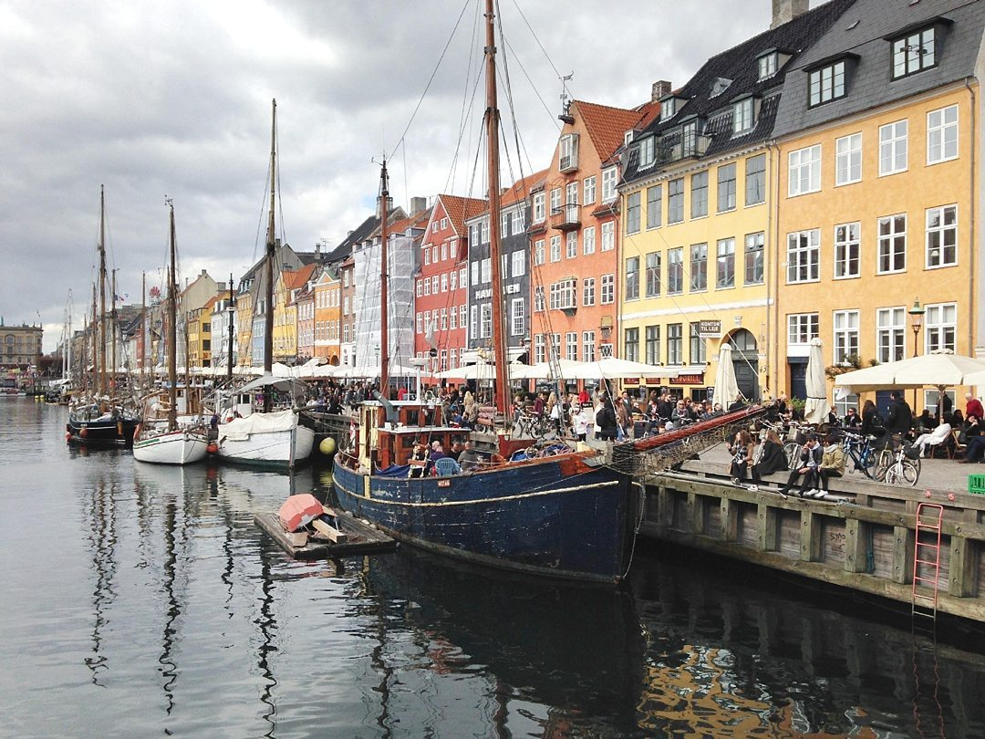 Fantastic Fall Destination Ideas Around the World on Sometimes Home travel blog. Image of Copenhagen from Elle of Dressing Danishly.