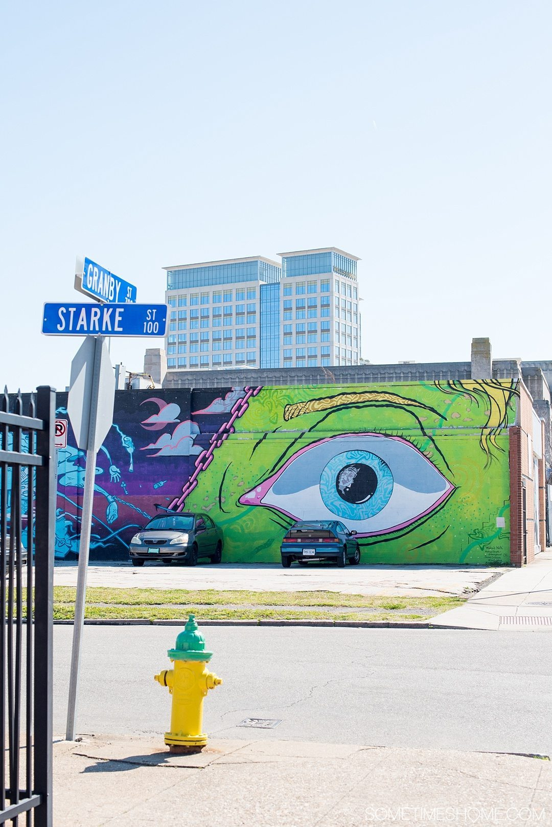 3 Stops to a Hipster Afternoon in Norfolk Virginia. The Plot area for colorful murals and street art.