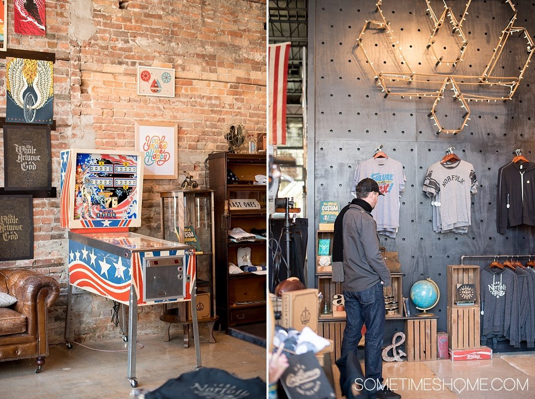 3 Stops to a Hipster Afternoon in Norfolk Virginia. Sometimes Home travel blog photos of Prince Ink shop.