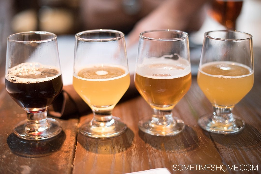 Self Guided Day Tour of the Best Breweries in San Diego on Sometimes Home travel blog. Photos of Stone brewery.