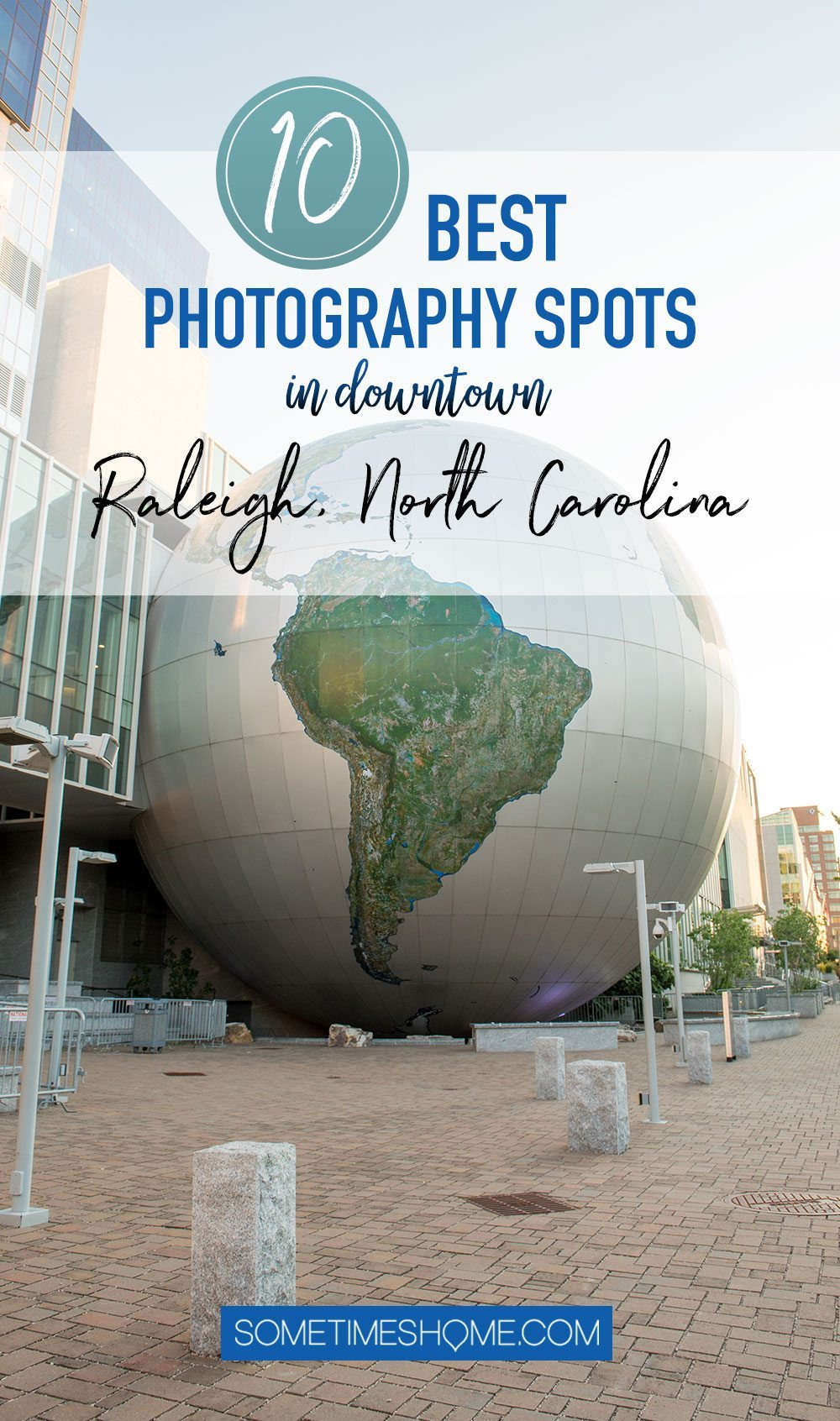 10 Best Downtown Raleigh Photography Spots on Sometimes Home travel blog.