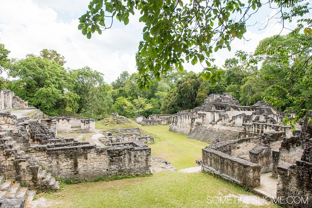 Your Tikal Guatemala Mayan Ruins Adventure Begins Here. Sometimes Home travel post with photos, tips and advice to visit this famous Mayan Ruin site.