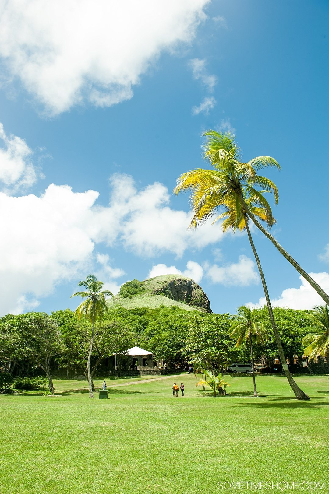 Must Do Activities to Revel In on Vacation in St. Lucia on Sometimes Home travel blog. Photos of Pigeon Island.