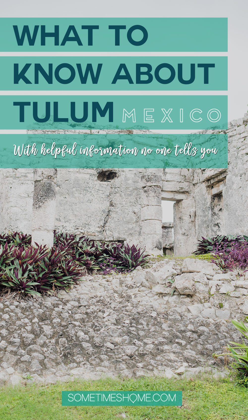 Tulum Mexico Travel Vacation Tips with helpful information no one tells you from times to go to the ruins to other activities and secrets of this romantic city. Click through to see detailed info! #TulumMexico #TulumTips