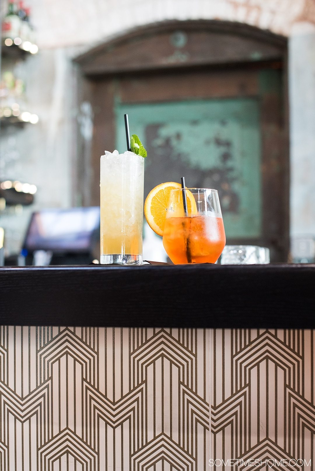 Traveling to Tampa Bay, Florida? Be sure to check out Armature Works Public Market restaurants and bars, including Cuban sandwiches and Japanese ramen, and everything in between. Fine & Dandy's cocktails are a must! Read about what these libations are in length and plan your visit with kids and adults by clicking through! #TampaBay #Florida #FoodHall