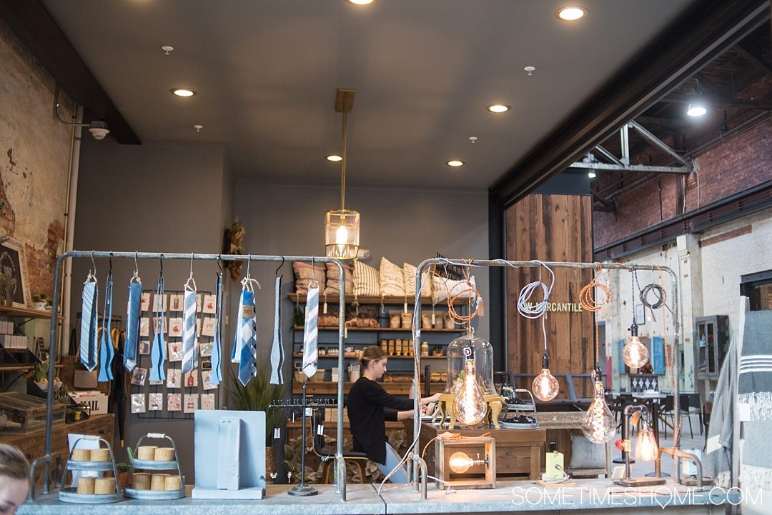 Armature Works Public Market restaurants and bars are the newest and best in the city of Tampa Bay Florida. They have everything from a flower shop to vintage inspired goods as well. Read about it in length and plan your visit with kids and adults by clicking through! #TampaBay #Florida #FoodHall