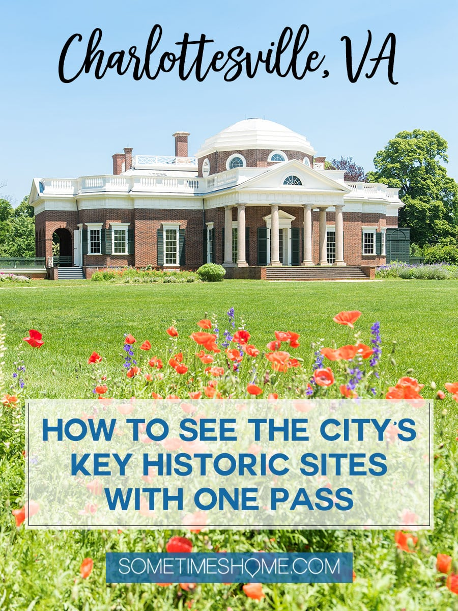 Looking for ideas for things to do in Charlottesville, Virginia? From Thomas Jefferson's Monticello, to Michie Tavern house and restaurant with an additional stop at James Monroe's home we have a complete review of the Neighborhood Pass for this beautiful destination near the Blue Ridge Mountains. Click through for more photographs and information! #CharlottesvilleVA #CharlottesvilleVirginia #RatherbeinCville #ThomasJefferson #Monticello #eastcoast #roadtrips