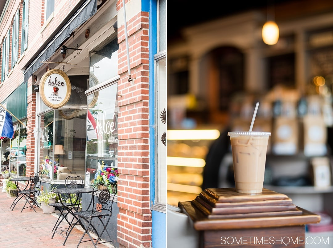 Things to do in Milford, a quaint town in Delaware Kent County that packs a lot of punch! Travel to this great small city to experience great art culture, to photography, wonderful food options (like an iced coffee or cupcake at Dolce), and even crafts to participate in check out this awesome town by Dover in the nation's first state! #delaware #milfordDE #milford #quaintvillages #kentcounty