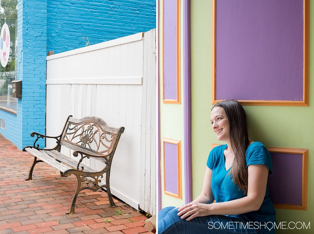 Things to do in Milford, a quaint town in Delaware Kent County that packs a lot of punch! Travel to this small city to experience great art culture, photography, wonderful food, architecture and even craft beer. Check out this awesome town by Dover in the nation's first state, including the it's colorful walls, and click through to read the entire article! #delaware #milfordDE #milford #quaintvillages #kentcounty
