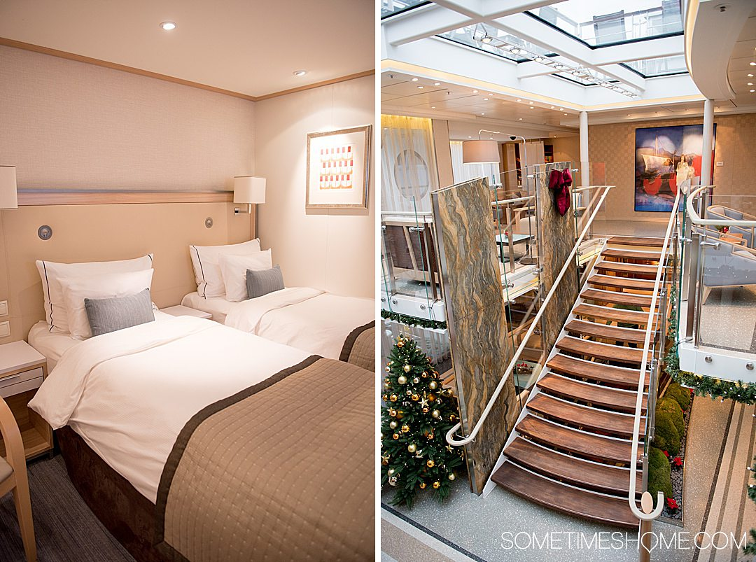 Viking Christmas River Cruise photos aboard the Alta vessel, with stops at holiday markets along the Danube River. Click through for the entire cruise itinerary. #RiverCruise #ChristmasRiverCruise #SometimesHome