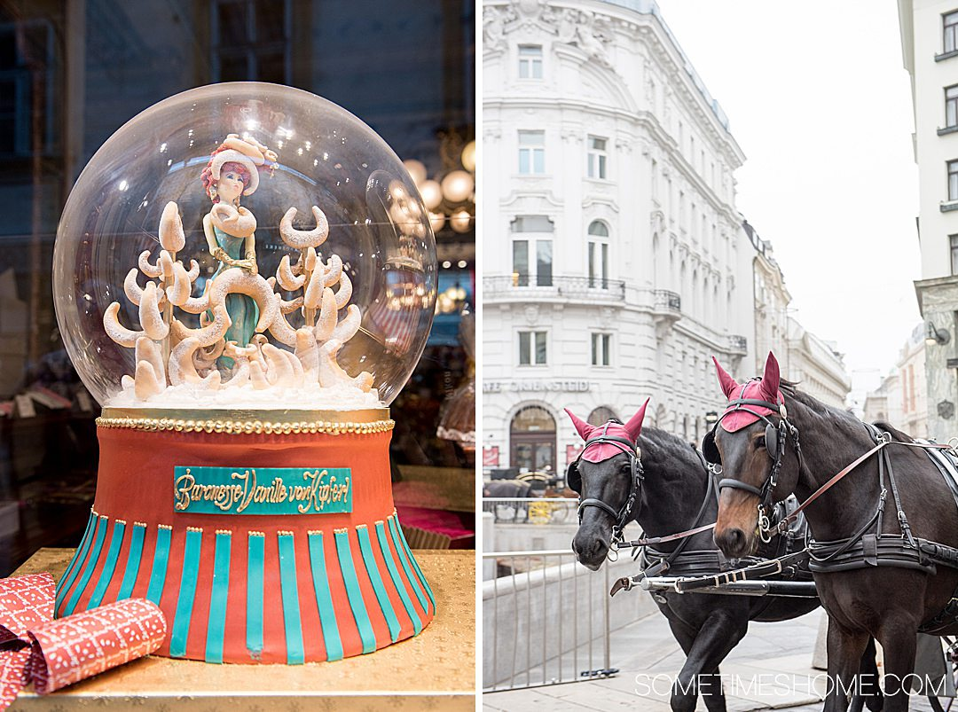 Danube Viking Christmas River Cruise photos with holiday markets in Vienna, Austria and beyond. Click through for the entire cruise itinerary. #RiverCruise #ChristmasRiverCruise #SometimesHome