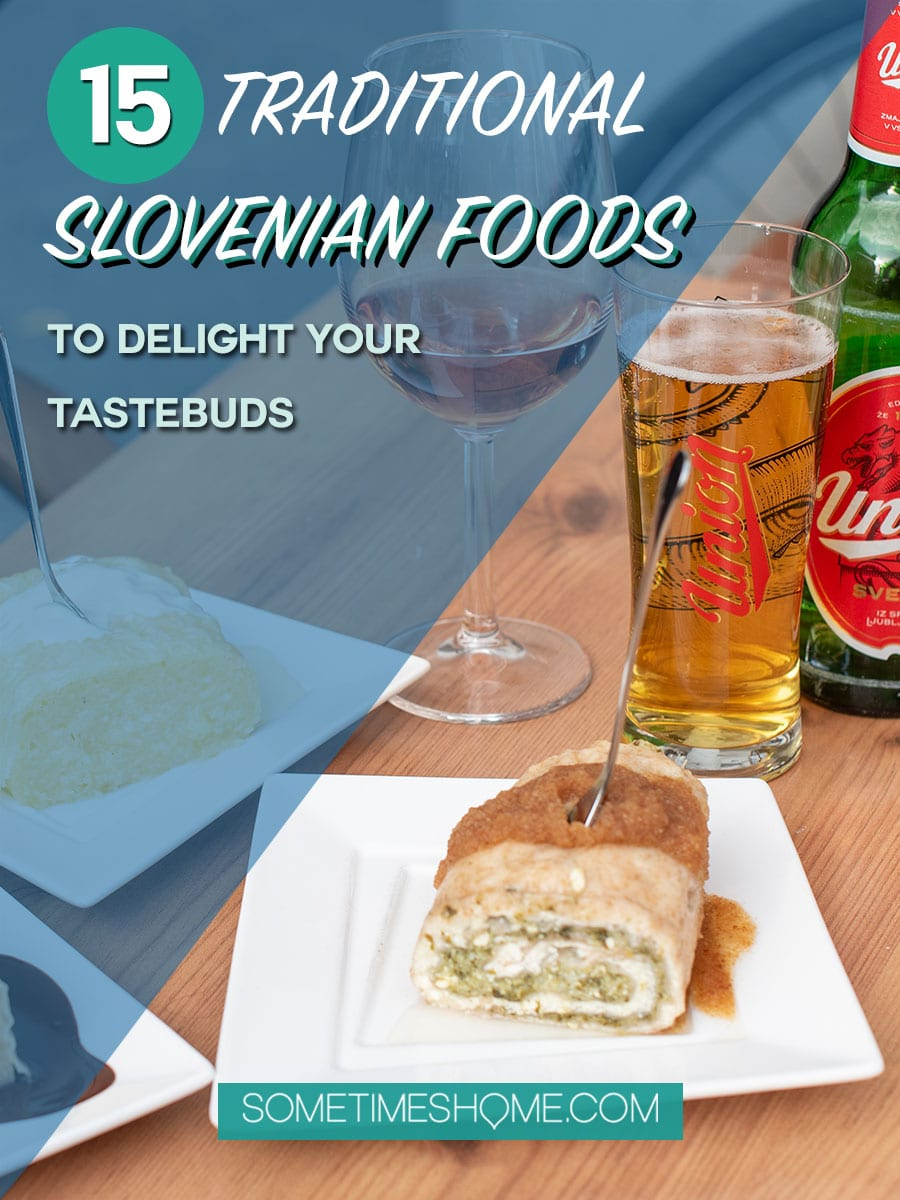 Planning to travel to Slovenia? You must try these traditional Slovenian food offerings, a part of the culture of the friendly people there! From cities including Ljubljana, Maribor, Lake Bled, Bohinj and Piran (mountains to the beach) we have the mouth-watering comfort foods (and photography of it all!) you need to try. Click through to satisfy your hunger and curiosity! #Slovenia #SloveniaFood #Maribor #Ljubljana #TraditionalSlovenianFood #SlovenianFood #SometimesHomePlanning to travel to Slovenia? You must try these traditional Slovenian food offerings, a part of the culture of the friendly people there! From cities including Ljubljana, Maribor, Lake Bled, Bohinj and Piran (mountains to the beach) we have the mouth-watering comfort foods (and photography of it all!) you need to try. Click through to satisfy your hunger and curiosity! #Slovenia #SloveniaFood #Maribor #Ljubljana #TraditionalSlovenianFood #SlovenianFood #SometimesHome