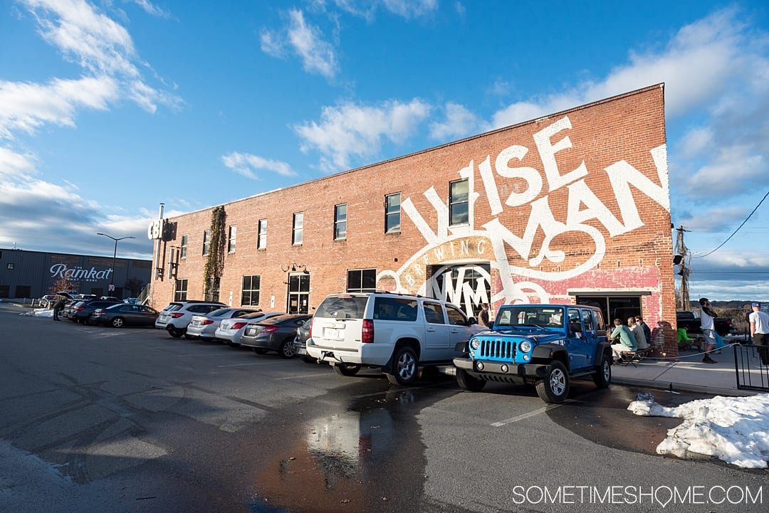 Ideas for Winston Salem attractions and things to do in North Carolina, from downtown art murals to restaurants. This beautiful NC city is a great weekend trip or overnight anywhere on the east coast for travel enthusiasts. #VisitNC #NorthCarolina #WinstonSalem #sometimeshome #eastcoasttravel #piedmontNC #ncbreweries #wisemanbrewery