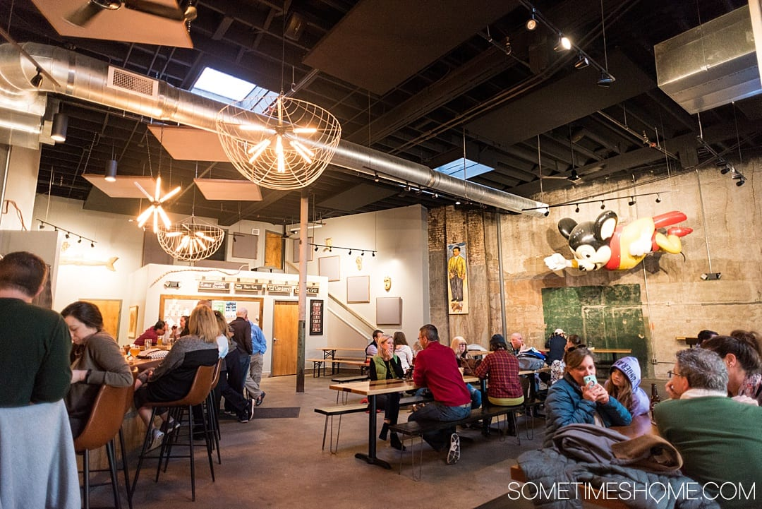 Ideas for Winston Salem attractions and things to do in North Carolina, from downtown art murals to restaurants. This beautiful NC city is a great weekend trip or overnight anywhere on the east coast for travel enthusiasts. #VisitNC #NorthCarolina #WinstonSalem #sometimeshome #eastcoasttravel #piedmontNC #ncbreweries