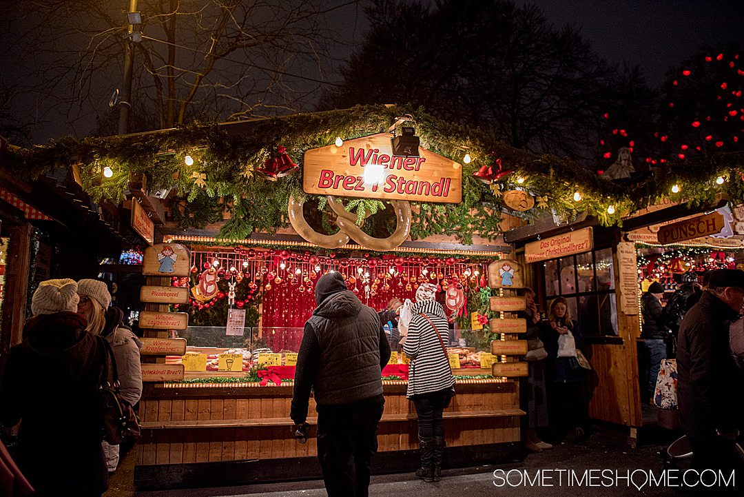 Danube Viking River cruise photos with Christmas markets in Vienna, Austria on travel blog Sometimes Home.