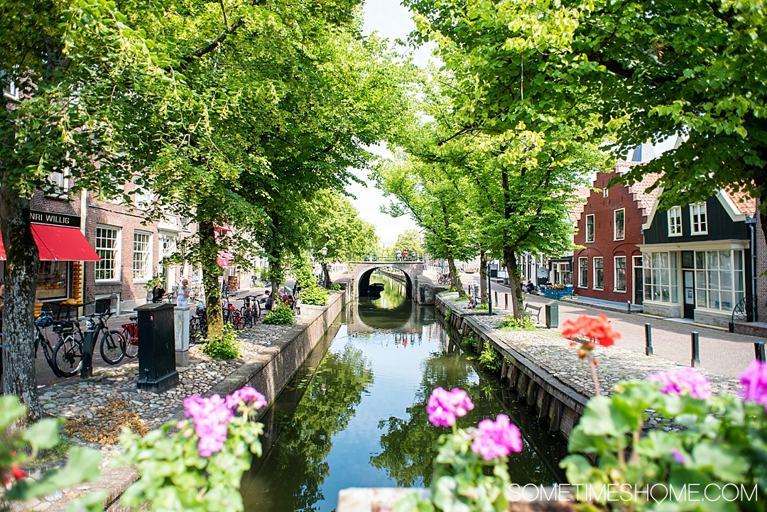 Easily Accessible Bus and Train Trips from Amsterdam in The Netherlands, with things to do in each town you travel to in this European country. #Holland #Amsterdam #DayTrips #AmsterdamArea #AmsterdamDayTrips #SometimesHome #Rotterdam #Almere #Edam #Zaandam #ZaansSchans #Haarlem #Hoorn #Beemster #OudZaandijk #Leylstad