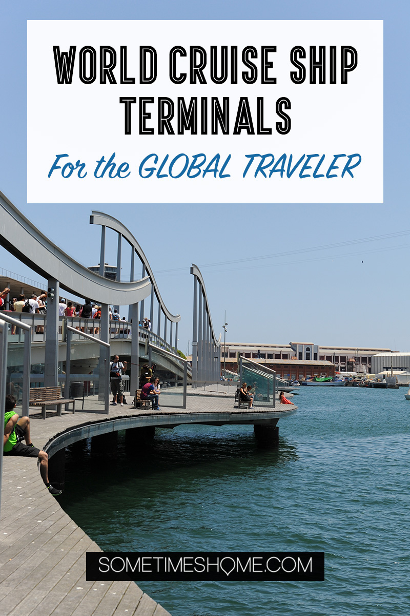 World Cruise Ship Terminals Information for the Global Traveler including Amsterdam, Argentina, Hamburg, India, Auckland and beyond, plus several US cities (Miami, Boston, New Jersey, Port Canaveral, Long Beach, Tamps and more). Click through for essential information for your cruise terminal and start of your trip! #sometimeshome #cruiselovers #cruises #cruiseterminals #cruiseterminalplans #cruiseterminalphotos #cruisesaroundtheworld