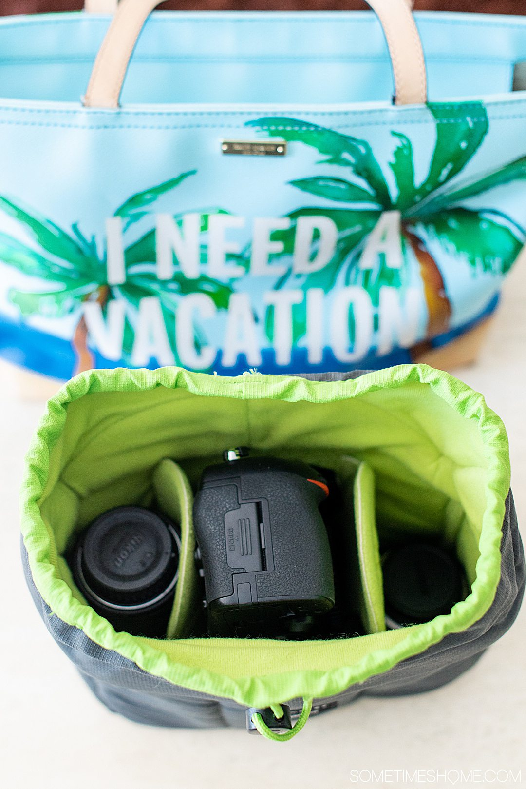 Unique travel gift ideas for men and women, him and her, if you want to gift a friend or surprise a couple in your life for a just because gift or holiday present. International theme and domestic inspired things too! This camera bag insert will be a lifesaver! #sometimeshome #uniquetravelgifts #travelgifts #travelpresents