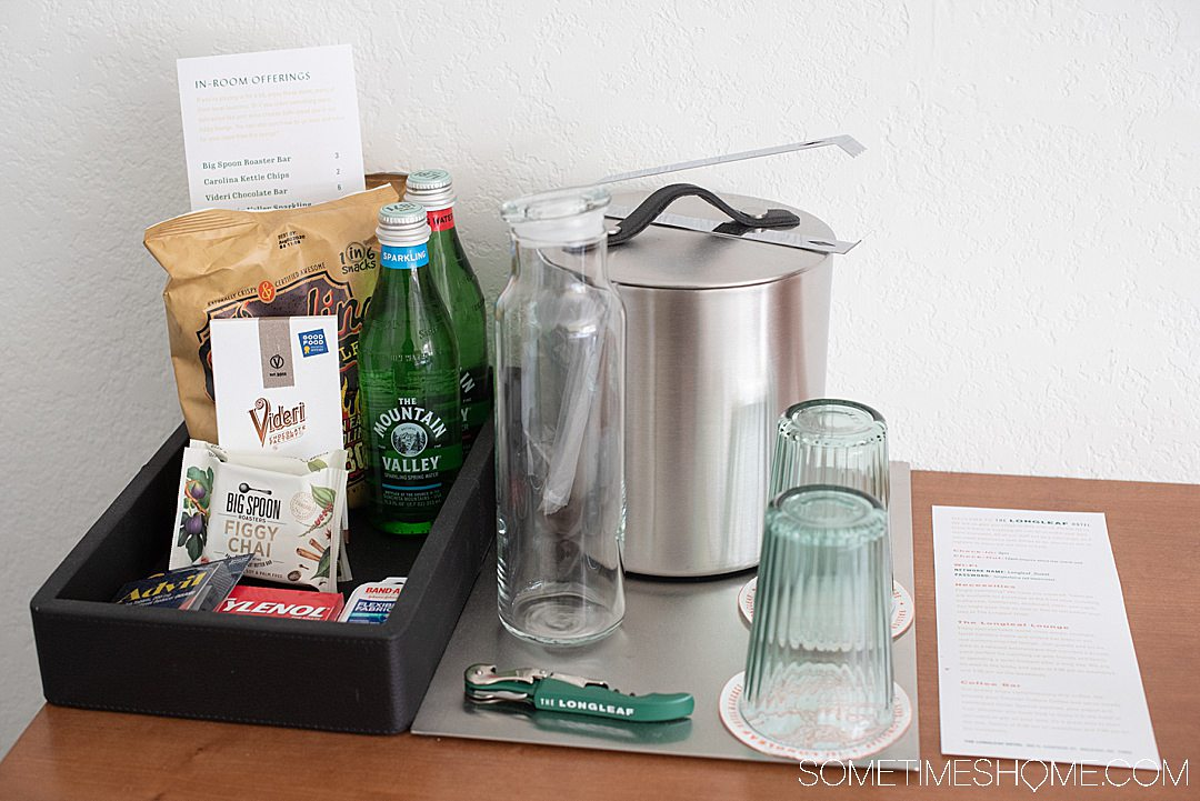 If you're moving to Raleigh and need a hotel while you house shop or visit the photography-worthy downtown area this is a great option. The Longleaf Hotel in Raleigh has great mid-century modern inspired interior design and products that support local in North Carolina. Located in the heart of downtown. #downtownRaleigh #NorthCarolina #sometimeshome #midcenturymodern