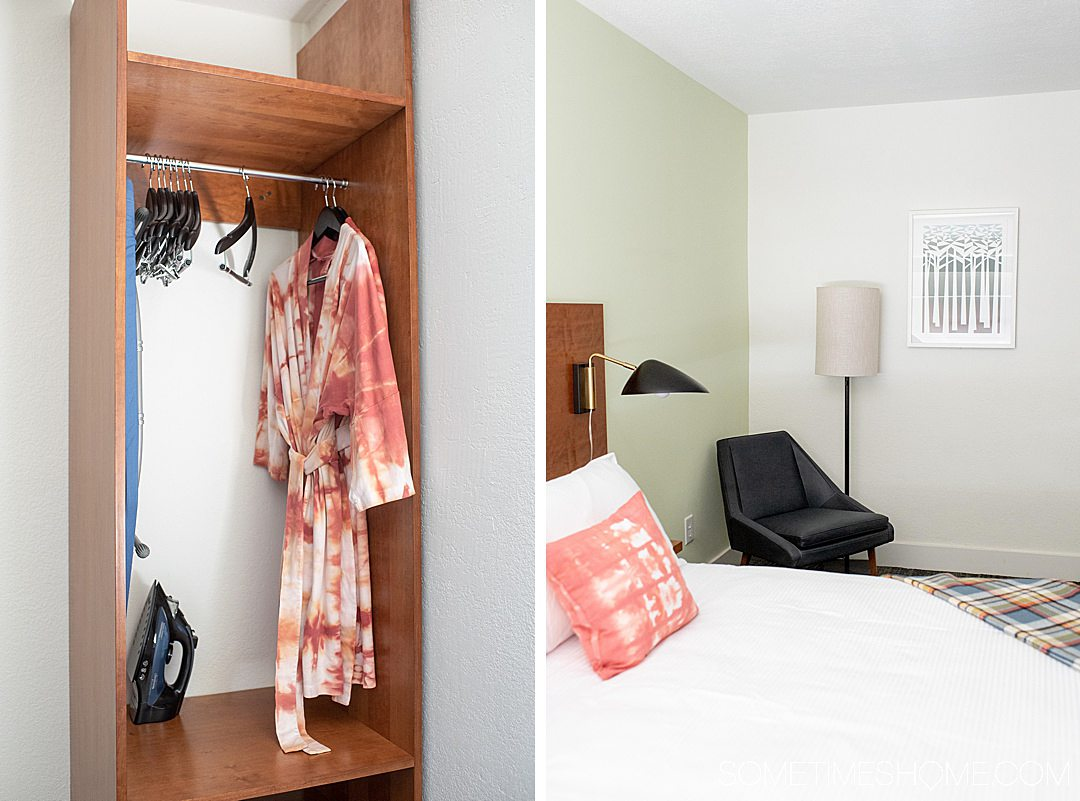 The Longleaf Hotel in Raleigh is the best and only independent hotel in the heart of downtown. If you're moving to Raleigh and need a hotel while you house shop or visit the photography-worthy downtown area this is a great option. They use local artists, like Rise and Ramble, in the room for their tie-dye pillows and assorted goods. #downtownRaleigh #NorthCarolina #sometimeshome