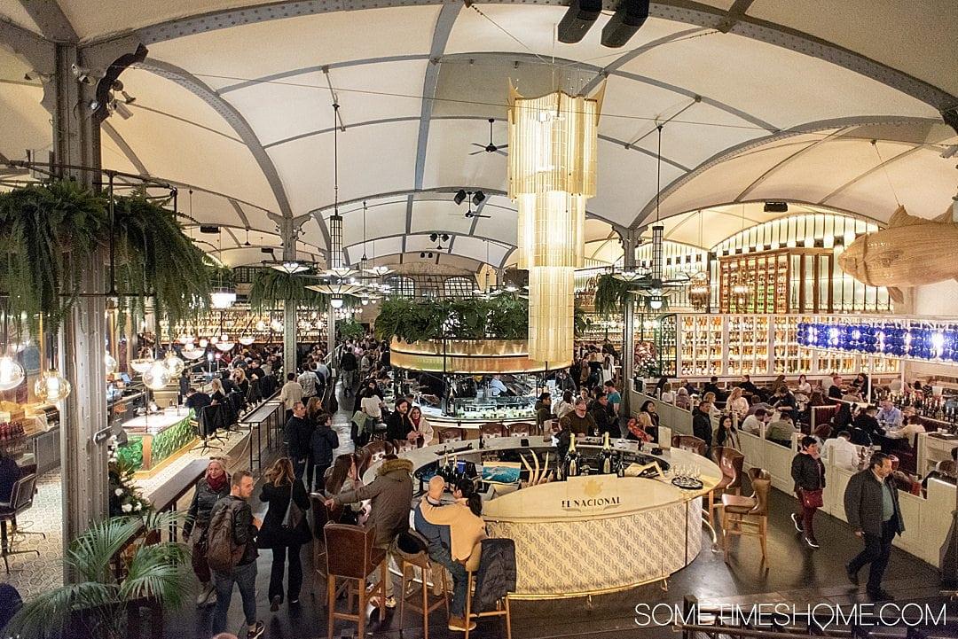 Food hall El Nacional in Barcelona