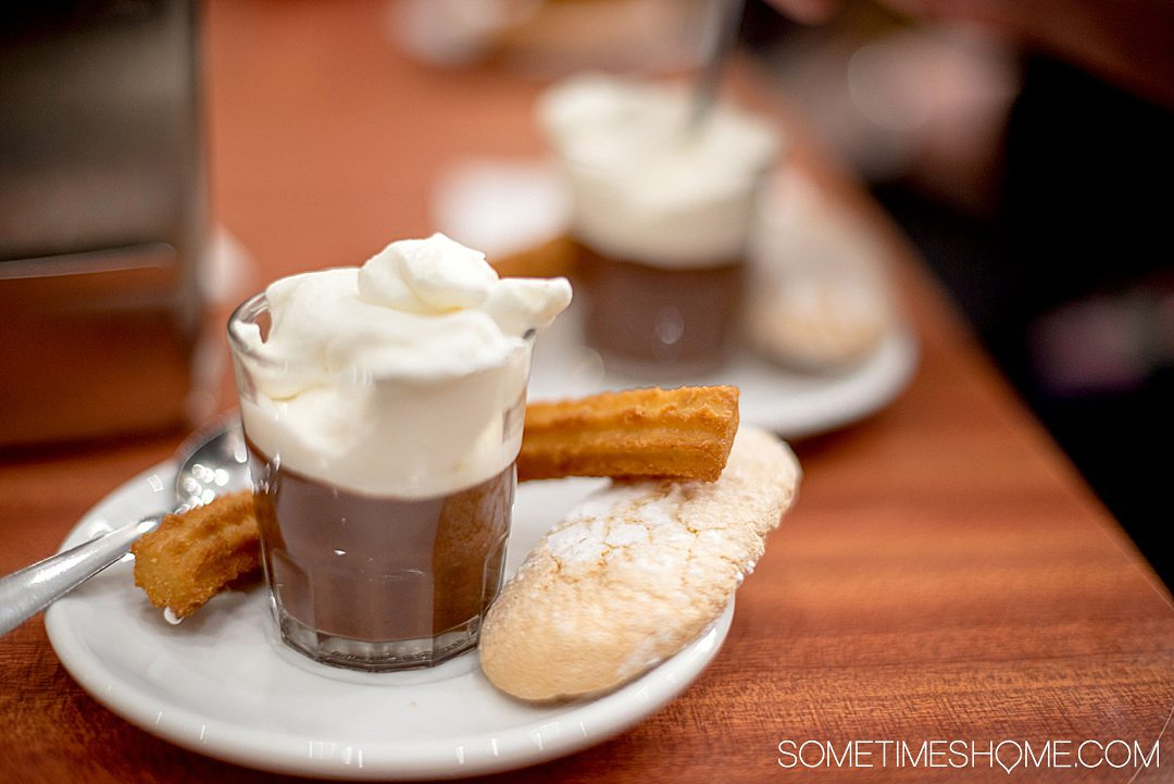 hot chocolate and churros that you must eat in Barcelona