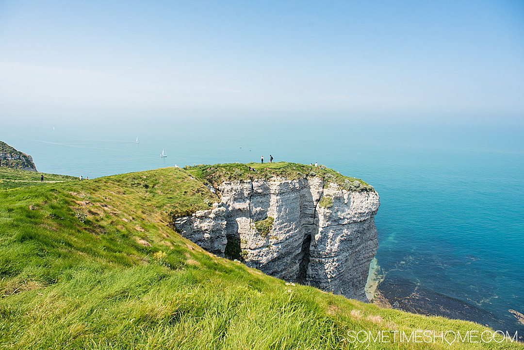 Image of the Cliffs at Etratat in Normandy, France. Used for an article about Travel Photography Questions and Answers.