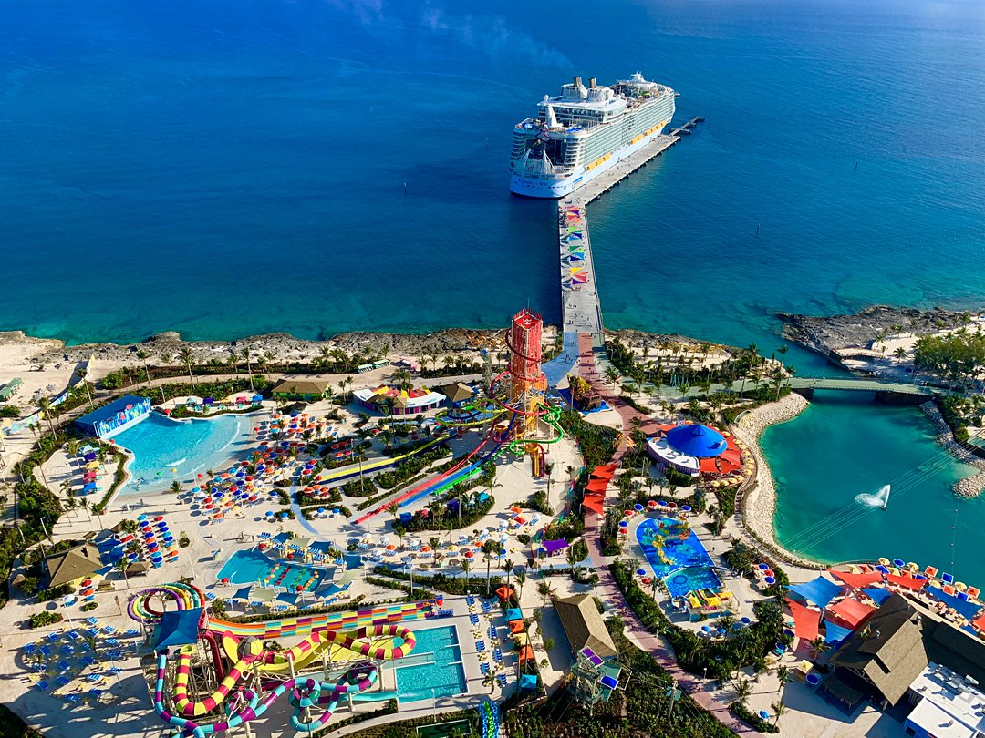 CocoCay, Royal Caribbean's private island.