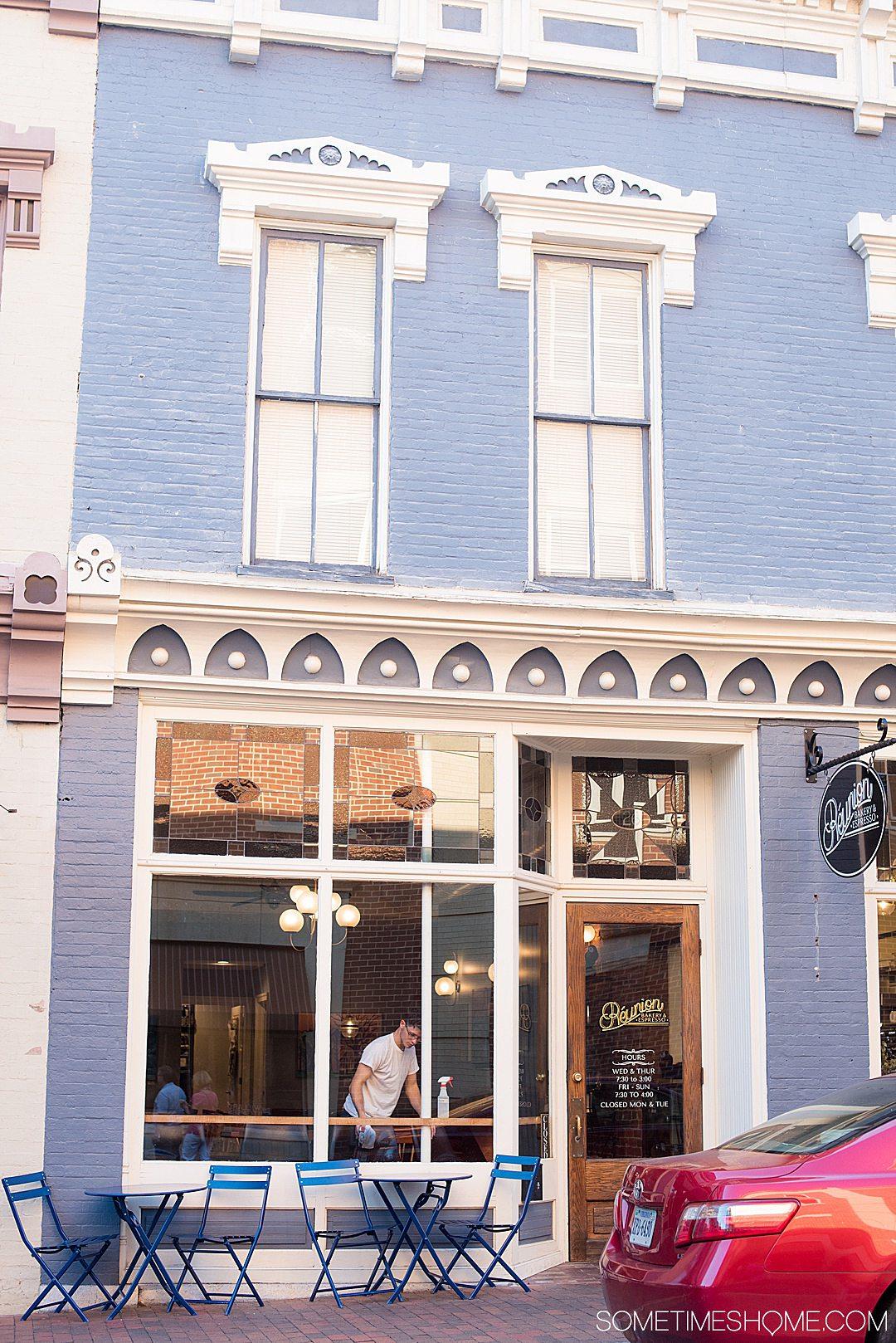Suntrust Building in historic downtown Staunton, Virginia.