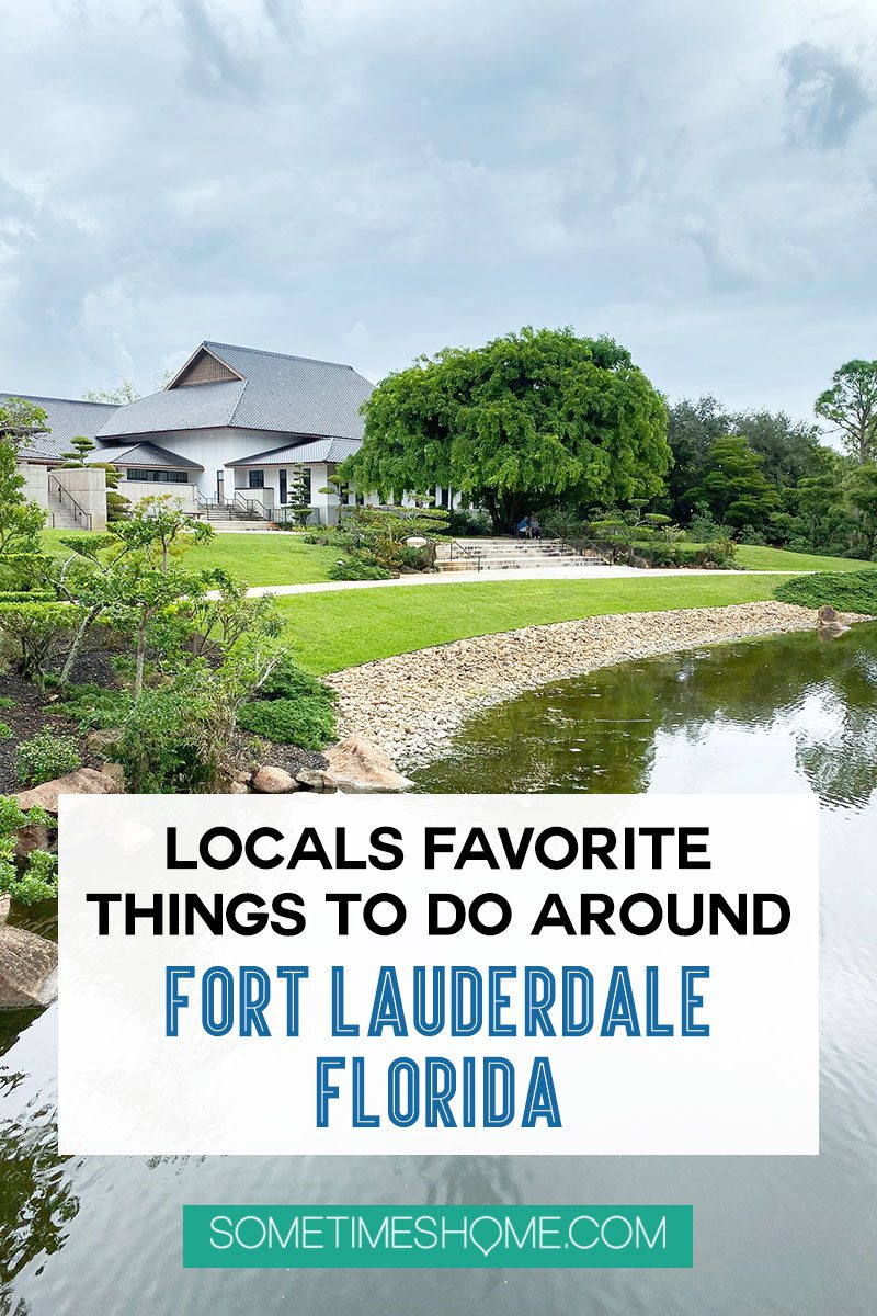 Things to do around Fort Lauderdale, Florida from new locals who lived in Florida for six months. Click through to see the unique places the locals go in this South Florida city including where to find great street art, restaurants, parks and more. #SometimesHome #FortLauderdale #Florida