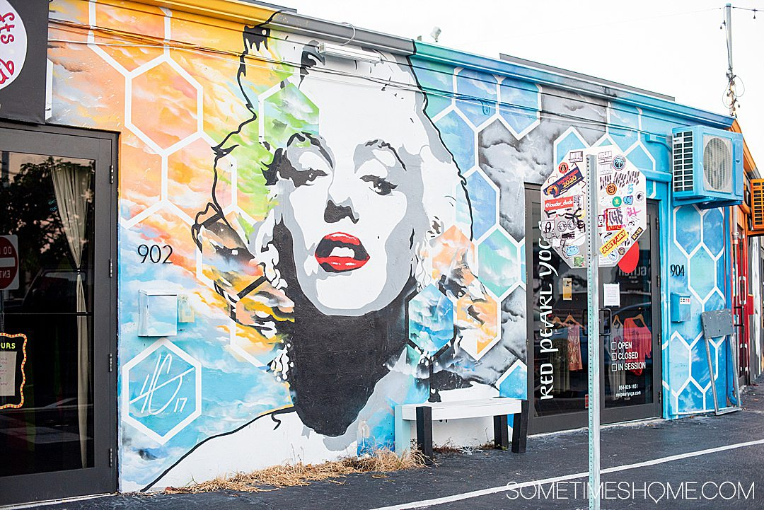 Things to do around Fort Lauderdale, Florida from new locals who lived in Florida for six months. Click through to see the unique places the locals go in this South Florida city including where to find this street art. #SometimesHome #FortLauderdale #Florida