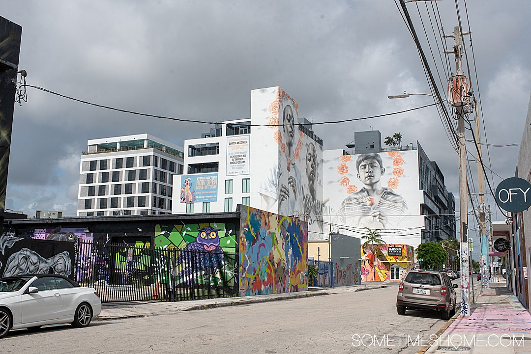 Wynwood isn't all murals! But many more fun things to do in. We reveal what to do in this hip Miami neighborhood on Sometimes Home travel blog. Click through for all the detailed information.