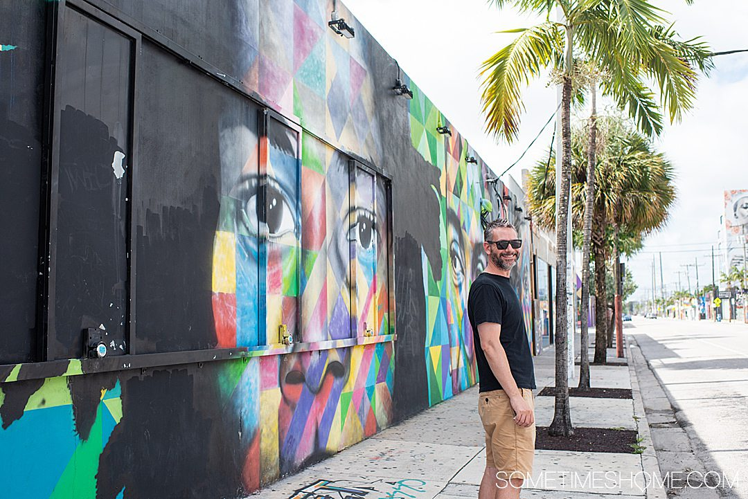 Fun things to do in Wynwood like find sculptures, on Sometimes Home travel blog. Click through for all the information on this popular neighborhood in Miami, Florida.